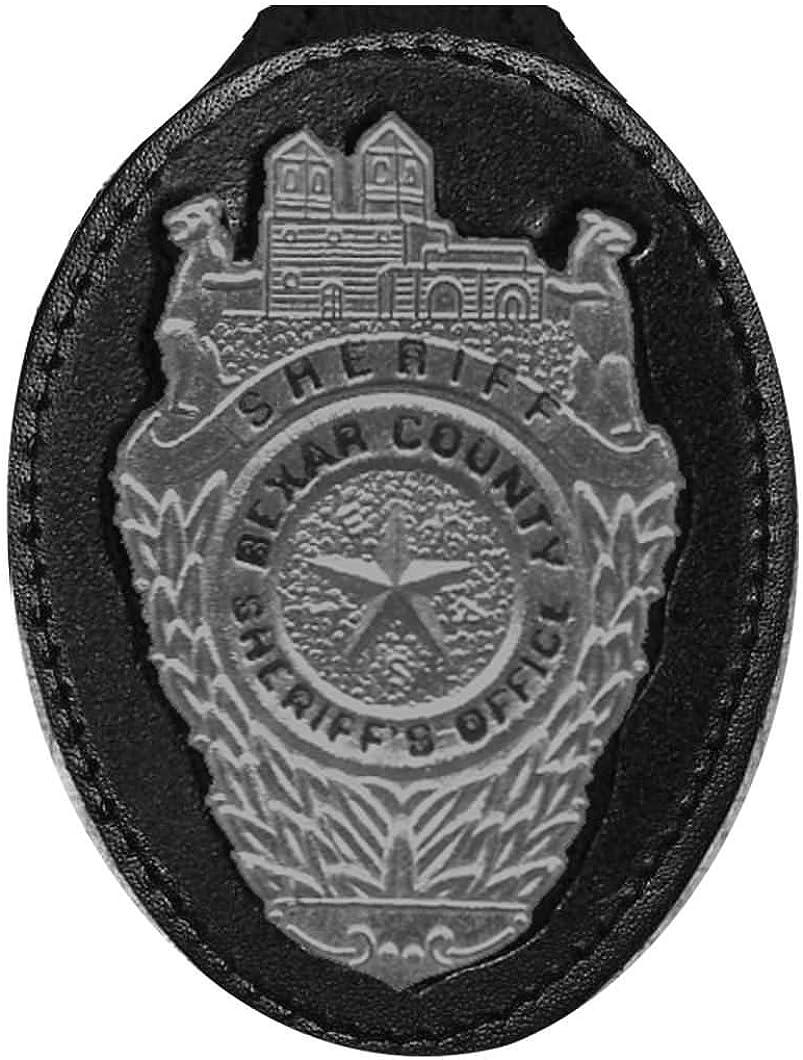 Bexar Large discharge sale County Texas Sale item Sheriff Belt Holder Badge Clip