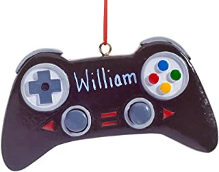 HOLIDAY PEAK Personalized Video Game Controller Ornament