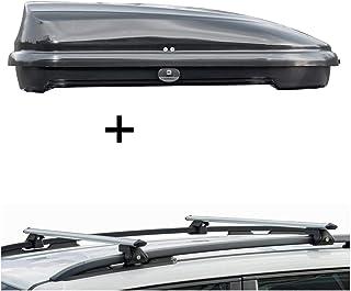 VDP VDPMAA320W Coffre de Toit verrouillable en Aluminium pour Ford Kuga /à partir de 08 Blanc 320 l