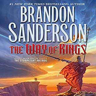 The Way of Kings     Book One of The Stormlight Archive              Auteur(s):                                                                                                                                 Brandon Sanderson                               Narrateur(s):                                                                                                                                 Kate Reading,                                                                                        Michael Kramer                      Durée: 45 h et 29 min     944 évaluations     Au global 4,8