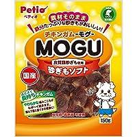 (まとめ買い)ペティオ チキンガム MOGU 砂ぎもソフト 150g 犬用おやつ 【×4】