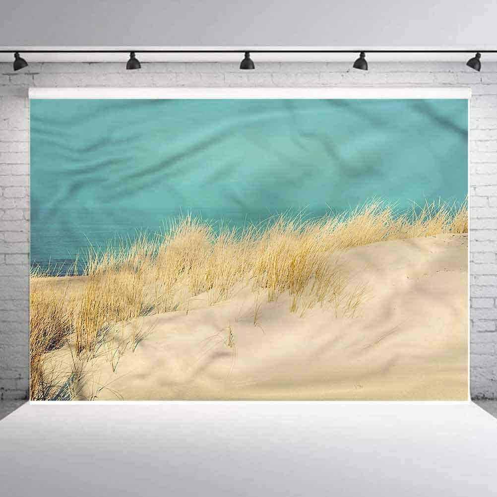 8x8FT Vinyl Backdrop Photographer,Wanderlust,Cuba and Caribbean Sea Background for Baby Shower Bridal Wedding Studio Photography Pictures