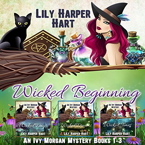 Wicked Beginning     An Ivy Morgan Mystery, Books 1-3              By:                                                                                                                                 Lily Harper Hart                               Narrated by:                                                                                                                                 Angel Clark                      Length: 18 hrs and 50 mins     215 ratings     Overall 4.2