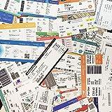 Retro Airlines Boarding Pass Ticket Tickets Etiqueta de Equipaje Trolley Maleta Decoración Etiqueta...