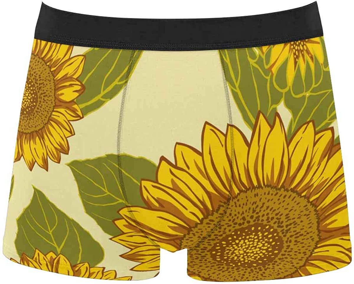 InterestPrint All Over Print Breathable Mens Max 51% OFF Brief Underwear Import for