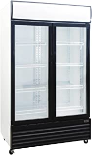 1000 Liter Display Beverage Cooler Merchandiser Refrigerator