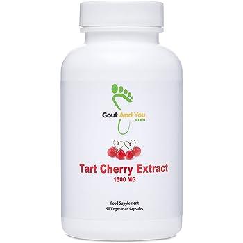 Tart Cherry Extract - 1500 mg- 90 Capsules