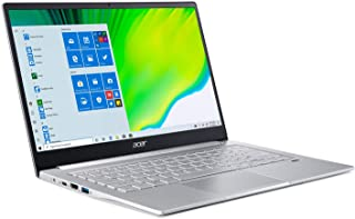 Acer Swift 3 Laptop delgada y ligera, 14 pulgadas Full HD IPS, AMD Ryzen 5 4500U Hexa-Core Procesador con Radeon Graphics,...