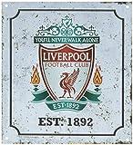 Liverpool FC Retro Logo Sign (One Size) (Off-White)