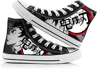 Demon Slayer Kimetsu no Yaiba Kamado Tanjirou Nezuko Cosplay Shoes Costume Canvas Shoes Sneakers