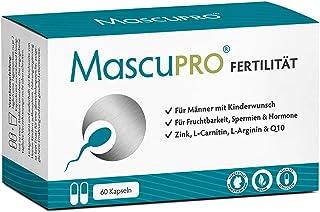 MascuPRO® Fertilität Mann – Fruchtbarkeit – Spermienproduktion + 60 Kapseln..