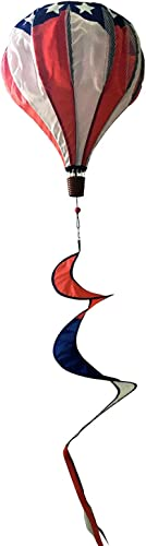 Briarwood Lane Patriotische Deluxe Hot Air Ballon Wind Twister Everyday 137,2  L