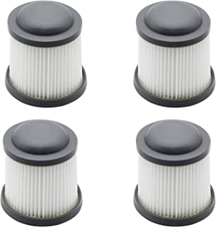 Pulluty Vac Filtros de repuesto para Black & Decker PVF 110 PHV1810 PHV1210 BDH2000PL BDH1600PL BDH2020FLFH BDH1620FLFH, Comparar con la parte # PVF110 (paquete de 4)