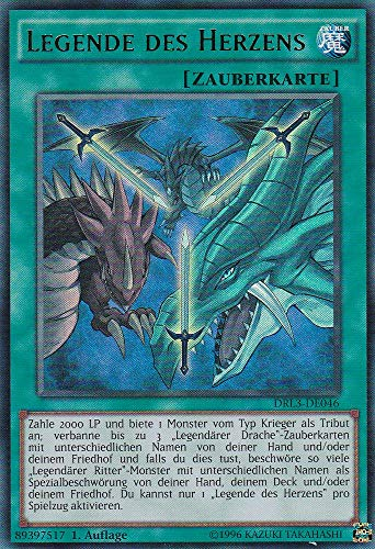 DRL3-DE046 - Legende des Herzens - Ultra Rare - Yu-Gi-Oh - Deutsch - 1. Auflage