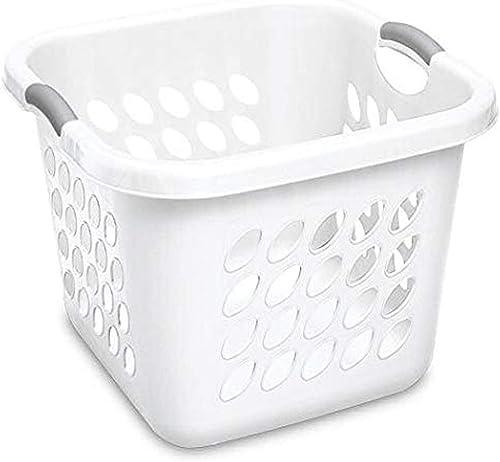Sterilite 12178006 Ultra 53L Laundry Basket - White