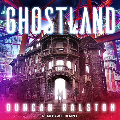 Ghostland audiobook cover art