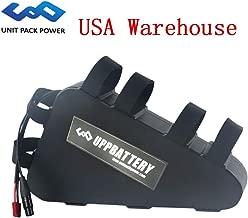 GoodPoint Art 52V 20AH Triangle E-Bike Lithium Battery for 1000-1500W Motor + Waterproof & Shockproof Case (USA Warehouse) (52V 20AH)