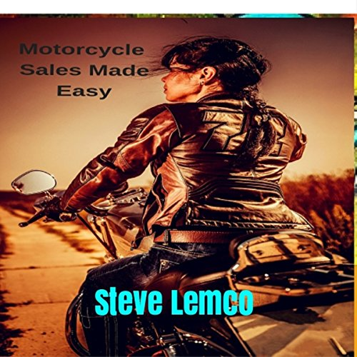 Motorcycle Sales Made Easy audiobook cover art