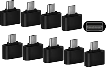 USB to Micro OTG Adapter 10 Pack Woodcovo OTG Connecter USB A to Micro USB Adaptor Data Syncing and Charging Micro Converter for Samsung, Micro Devices