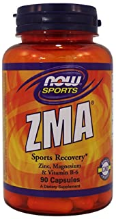 Now Foods ZMA Sports Recovery - 90 Capsules (Pack of 2)