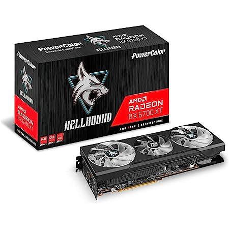 Power Color AMD Radeon RX6700XT搭載 グラフィックボード GDDR6 12GB 【国内正規代理店品】 AXRX 6700XT 12GBD6-3DHL