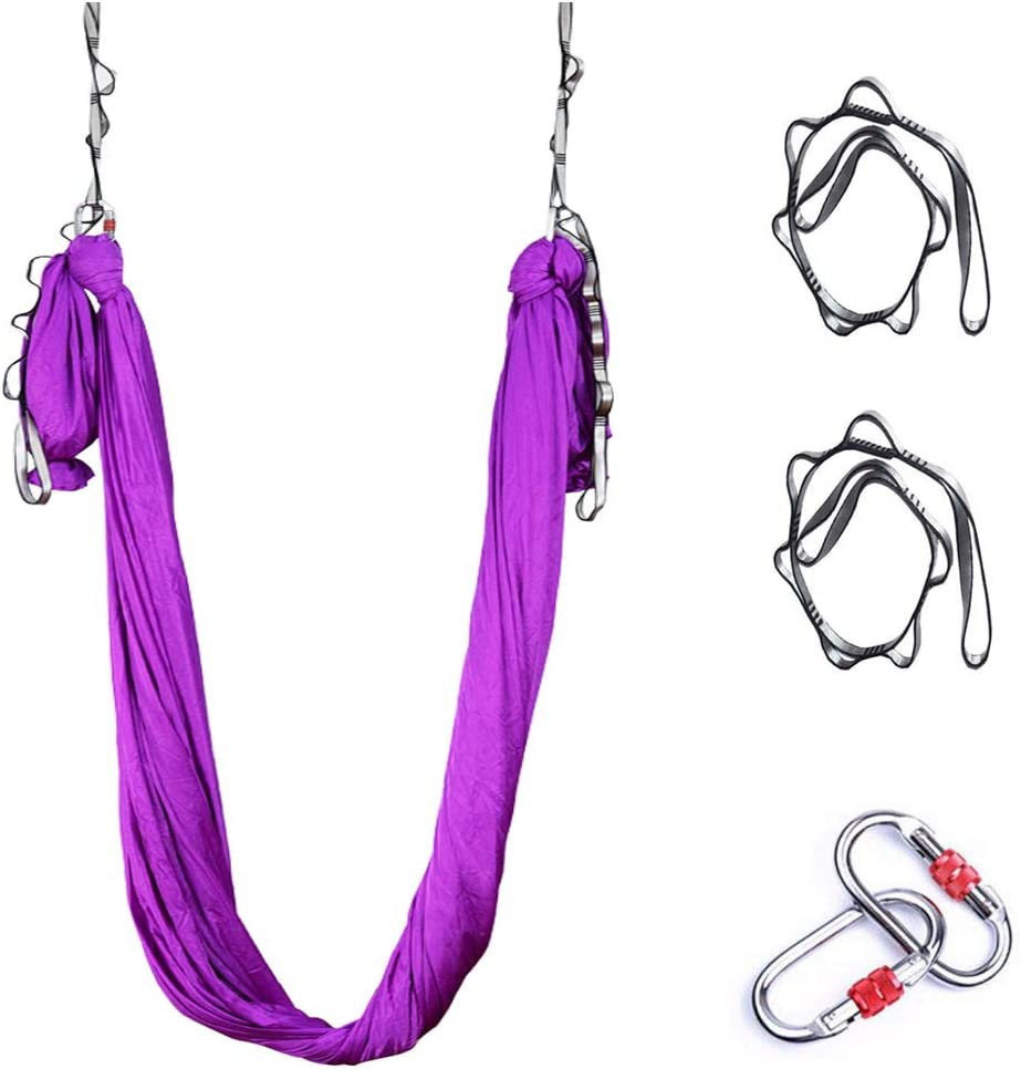 Direct stock discount Gaorui Fashion Silk Aerial Yoga Inversio Hammock - Improved half
