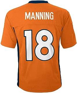 Outerstuff Peyton Manning Denver Broncos NFL Toddler 2-4 Orange Home Mid-Tier Jersey