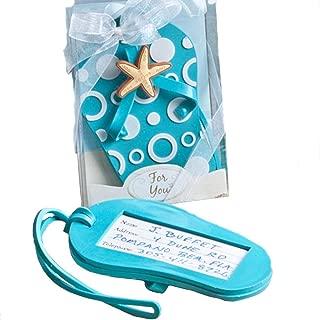 Fashion Craft 4763 Flip Flop Luggage tag Favors, Blue