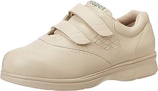 Propet Women's Vista Strap Sneaker,Bone,11 4E US