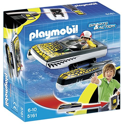 Playmobil - 5161 - Jeu de Construction - Bateau Rapide à Emporter