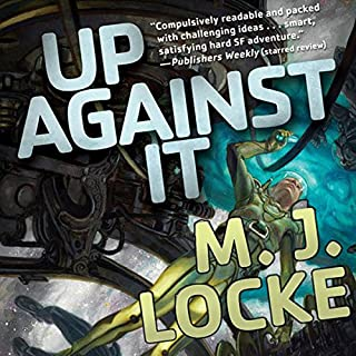 Up Against It audiobook cover art