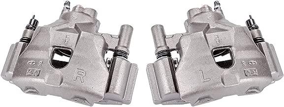 Callahan CCK04444 [2] FRONT Premium Semi-Loaded Original Brake Caliper Pair + Hardware [ 2003-2005 Mazda 6 ]