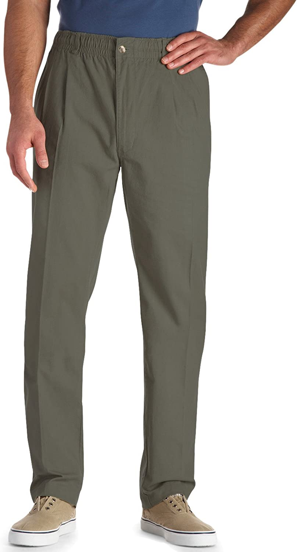 Creekwood Elastic-Waist Twill service Max 73% OFF Pants UNF 50L Sage