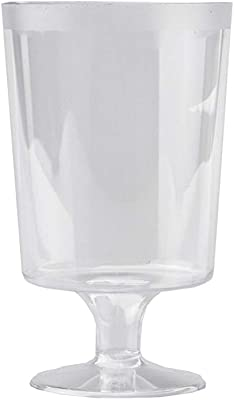 Value Partyware 185ml Clear Wine Goblet