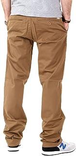 سروال تشينو واسع طويل من مجموعة كور كبيرة للرجال من LRG