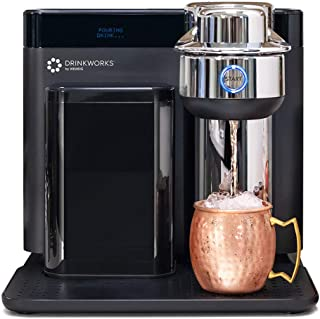 Drinkworks Home Bar by Keurig, Single-Serve, Pod-Based Premium Cocktail, Spritzer & Brews Maker (Pods Sold Separately), Ba...