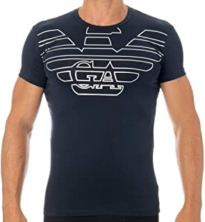 Emporio Armani mens Big Eagle Crew Neck T-Shirt T-Shirt