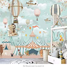 Mural wallpaper Custom Mural Wall Paper 3D Cartoon Balloon Photo Wall Painting Children'S Bedroom Home Decor Wall Papers f...
