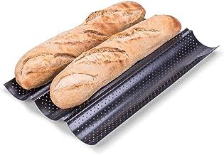 Backform f/ür 5 Baguetten Silikon antihaftbeschichtet Baguetteschale Free Size Wie abgebildet Baguette-Backblech wiederverwendbar Kastenform franz/ösischer Stick