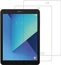 """Ruban [2-Pack] Galaxy Tab S3 / Tab S2 Glass Screen Protector, Tempered Glass Screen Protector for Samsung Galaxy Tab S3 / Tab S2 9.7"""" Tablet, Bubble-Free/Anti-Fingerprint [Clear]"""