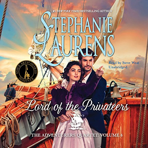 Lord of the Privateers audiobook cover art