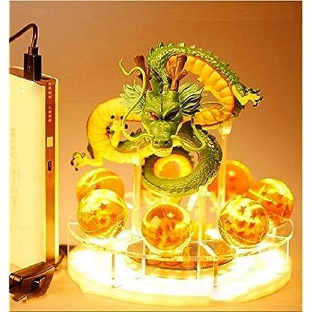 Creative Veilleuse Table Lampe LED Jouets Figurine Dragon Bénédiction Réalisez le Rêve Ensemble Combiné Mascotte Éclairage Décoratif pour Enfants Bébé sans Couverture