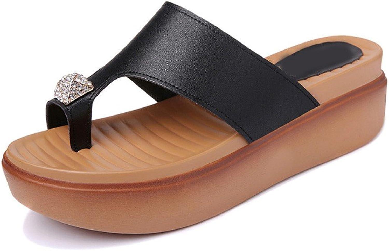 Vory Frau Sommer Sandalen mit Dickem Boden Sandalen Sandalen Sandalen und Pantoffeln Hausschuhe  848a5d