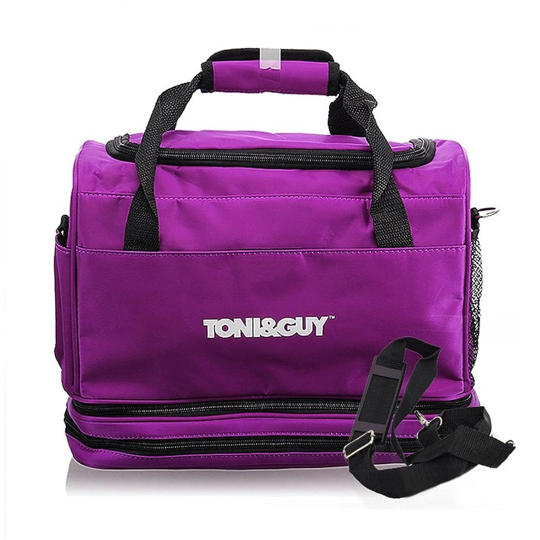 博物館インサートエキゾチック美容師 シザーバッグ Hair Tools Bag Hairdressing Carry Case 脱着 ストラップ Hair Tools Organizer Bag for Hairdressers 【ヘアツール バッグ】並行輸入
