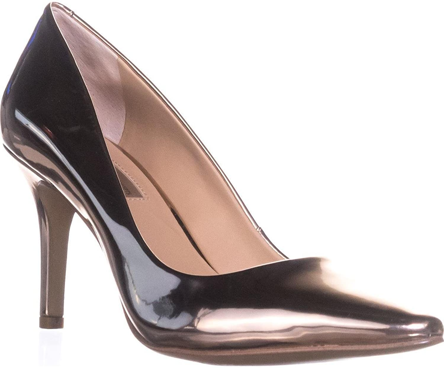 INC International Concepts I35 Zitah5 Pointed-Toe Heels, pink gold, 9 US