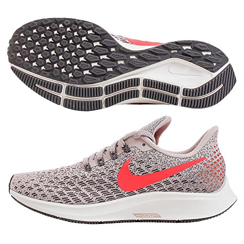 Nike Air Zoom Pegasus 35, Scarpe da Running Donna, Nero (Black/White/Gun Smoke/Oil Grey 001), 42.5 EU