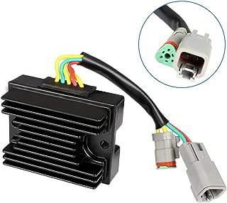 SCITOO Regulator Rectifier 278001581 278001969 Replacement Voltage Regulator Rectifier Fit for 06-07 Sea-Doo 3D 05-06 Sea-Doo GTI 2007 Sea-Doo GTI 4TEC 2002-2007 Sea-Doo GTX 4TEC 2005-2006 Sea-Doo RXP