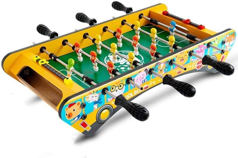 CJVJKN Table Football for Children, Wooden Frame for Family Part