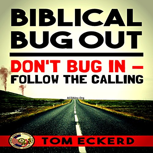 Biblical Bug Out audiobook cover art