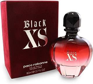 Paco Rabanne Black Xs for Women Eau de Parfum Spray, 2.7 Ounce